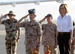 Chacón llega a Afganistán para recabar información sobre la muerte del sargento