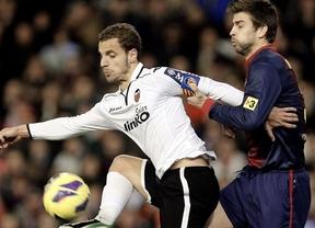 El Barça se lo toma con mucha calma en Valencia, aunque Messi vuelve a marcar (1-1)