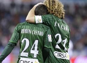 El Betis golpea al Zaragoza y disipa el sueño de la salvación (0-2)