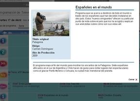 'Españoles por el mundo' no se va a la Patagonia por... ¿YPF?