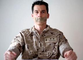 Imagen del teniente Segura promovida por el círculo para apoyar al militar