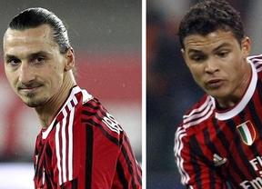 Thiago Silva e Ibrahimovic cambian el Milan por el PSG