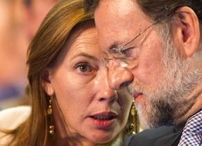 Abucheo playero a Viri, la esposa de Rajoy