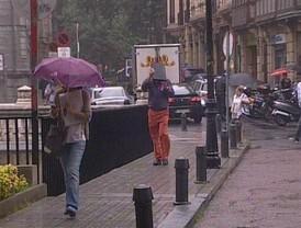 Hasta 120 incidencias por lluvia en Andalucía