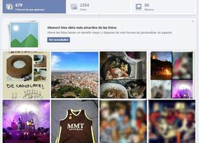 Facebook rediseña los álbumes fotográficos  y mejora algunas funciones