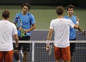 Indian Wells: Rafa Nadal y Marc López, campeones de dobles