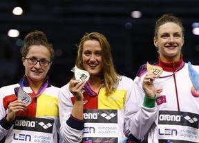 Miriea es la nueva reina... de la natación española y europea: suma otras dos medallas en los Europeos que cierra con cuatro