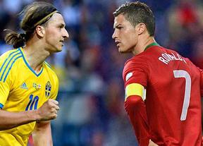 Ser o no ser: Ronaldo o Ibrahimovic, uno de los dos se quedará esta noche fuera del Mundial