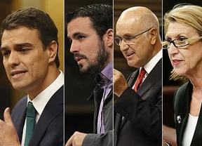 Reacciones al discurso de Rajoy en el Debate: Sánchez, Duran i Lleida, Centella, Rosa Díez e Iglesias