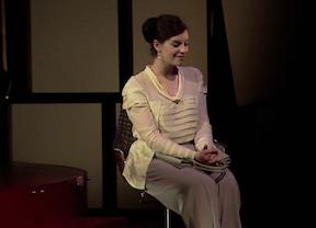 Marina Bollaín mete a la 'nueva' Regenta en un programa televisivo del corazón