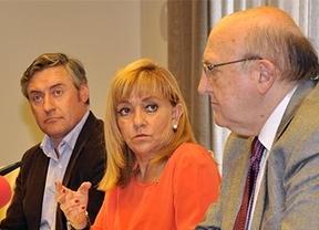 La presidenta de la Diputación, Isabel Carrasco presenta el II Plan de Ayuda al Joven Emprendedor