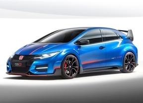 Honda mostrará en el Salón de París el 'concept' que anticipa un Civic Type R con 280 caballos