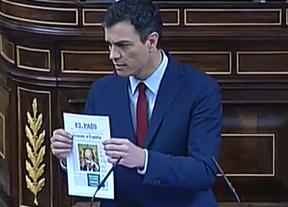 Pedro Sánchez se estrena echando en cara a Rajoy el rescate que sí apareció publicado en prensa