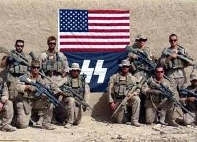 Los soldados de EEUU vuelven a 'lucirse'