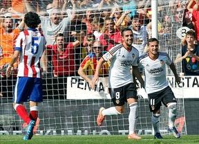 Al Valencia le bastaron 13 minutos para arrollar al Atleti