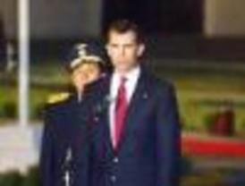 El Príncipe de Asturias llega a Lima para investidura de García