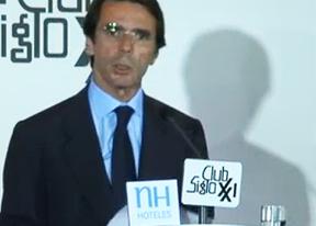 Intervención de José María Aznar en el Club Siglo XXI