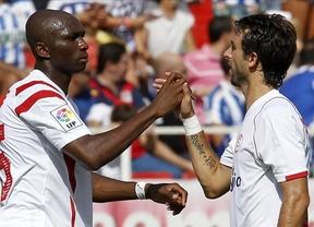 El Sevilla golea al Depor y se cuela en el 'pódium liguero' (4-1)