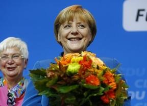 Merkel seguirá mandando en Alemania, con posible mayoría absoluta, y en Europa tras su histórico triunfo