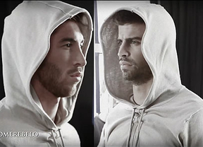 Sergio Ramos y Gerard Piqu�: dos defensas y una revoluci�n con 'Assassin's Creed 3'
