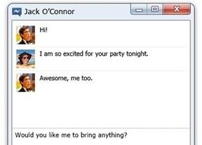 La versión beta de Facebook Messenger llega a Windows 7