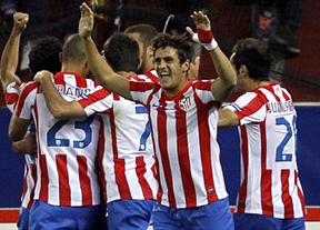 Salvio con un gol a última hora aclara da vida al Atlético para la vuelta en Hannover (2-1)