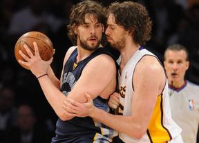 La veteranía ee un grado: Pau Gasol y sus Lakers derrotan a Marc y sus Grizzlies (111-116)