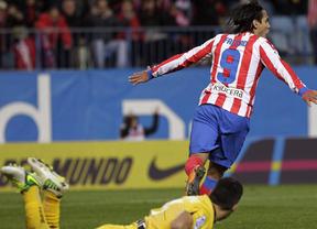 'Matador' Falcao decide un partido complicado para el 'SuperAtleti' ante un Osasuna peleón (3-1)