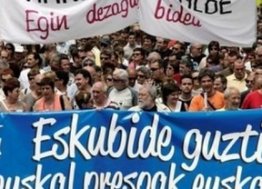 Los presos de ETA no están solos: 450 personajes vascos apoyan una marcha en su favor