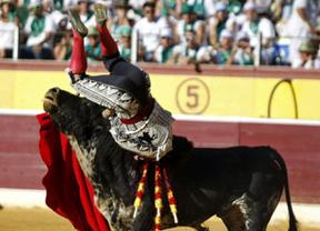 Morante se pierde casi todas las actuaciones de agosto por su grave cornada en Huesca