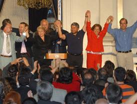 Cristina Fernández se proclama presidenta de Argentina