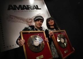 'Hacia lo Salvaje', de Amaral, consigue el Triple Disco de Oro