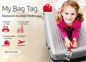 Iberia permite emitir la etiqueta para el equipaje a través de www.iberia.com para 10 destinos internacionales