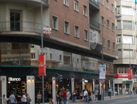 Los empleados públicos exigen su derecho a manifestarse por la Gran Vía de Murcia