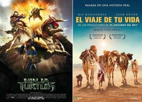 Las versiones de las series toman los cines con los estrenos de la semana