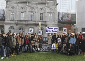 Protestas y movilizaciones 'europeas' de los erasmus españoles ante la incertidumbre de las becas