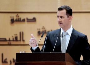 Al Assad lanza un mensaje al mundo por televisión: Siria no es Libia