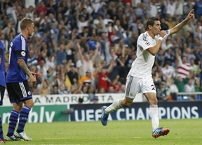 Champions: balsámica victoria del Madrid ante un débil Copenhague que pagó los platos rotos (4-0)