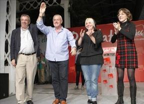 Cayo Lara cierra campaña culpando al PSOE de que gane la derecha