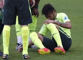 Brasil no gana para sustos: a las continuas protestas contra el Mundial se une la lesión de Neymar, su máxima estrella