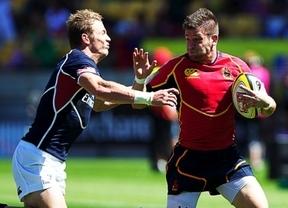 La Roja de rugby a siete jugará en Nueva Zelanda la Copa Bronce dentro de las Series Mundiales