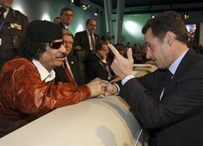 Gadafi 'resucita' en la recta final de las elecciones francesas como un mazazo para Sarzkoy
