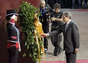 Artur Mas, en la Diada, mantiene la consulta y evita hablar de elecciones anticipadas
