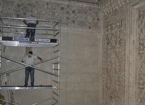 'Lavado de cara' a la Gran Sala de Oración de la Sinagoga del Tránsito de Toledo