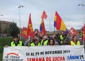 Más de un centenar de personas marchan en Toledo en defensa de la dignidad y los derechos sociales