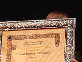 Van Rompuy felicita a Zapatero por coger