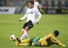 El Valencia toma aire en Europa gracias al Kuban Krasnodar ruso (0-2)