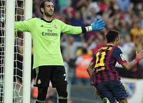 Un Barça vulgar estoquea a un Madrid muy manso y se le escapa ya a seis puntos en la Liga (2-1)
