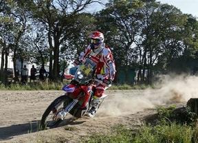 Barreda gana la etapa y se coloca líder del Dakar en motos