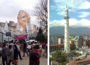 El antes y el después de algunos monumentos históricos